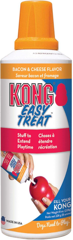 KONG Stuff'N Easy Treat Bacon & Cheese Recipe, 8-oz bottle