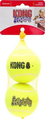 KONG AirDog Squeakair Balls Packs Dog Toy, Large