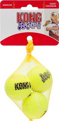 KONG AirDog Squeakair Balls Packs Dog Toy, Small