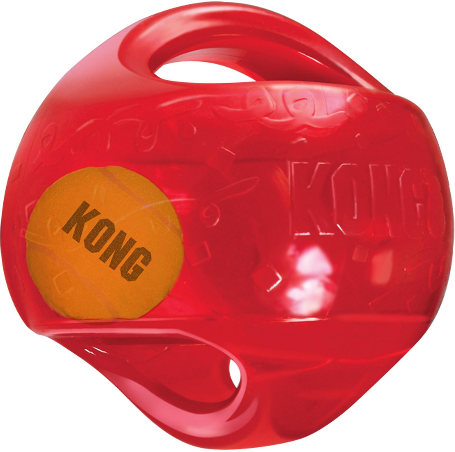 KONG Jumbler Ball Dog Toy, Color Varies Image
