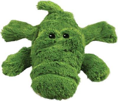 KONG Cozie Ali the Alligator Dog Toy, Medium
