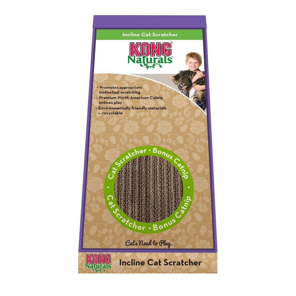 KONG Naturals Scratcher Cat Toy, Incline