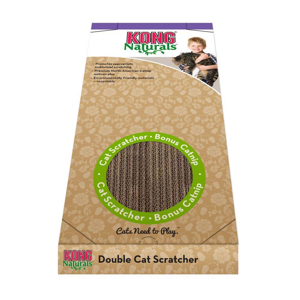 KONG Naturals Scratcher Cat Toy, Double