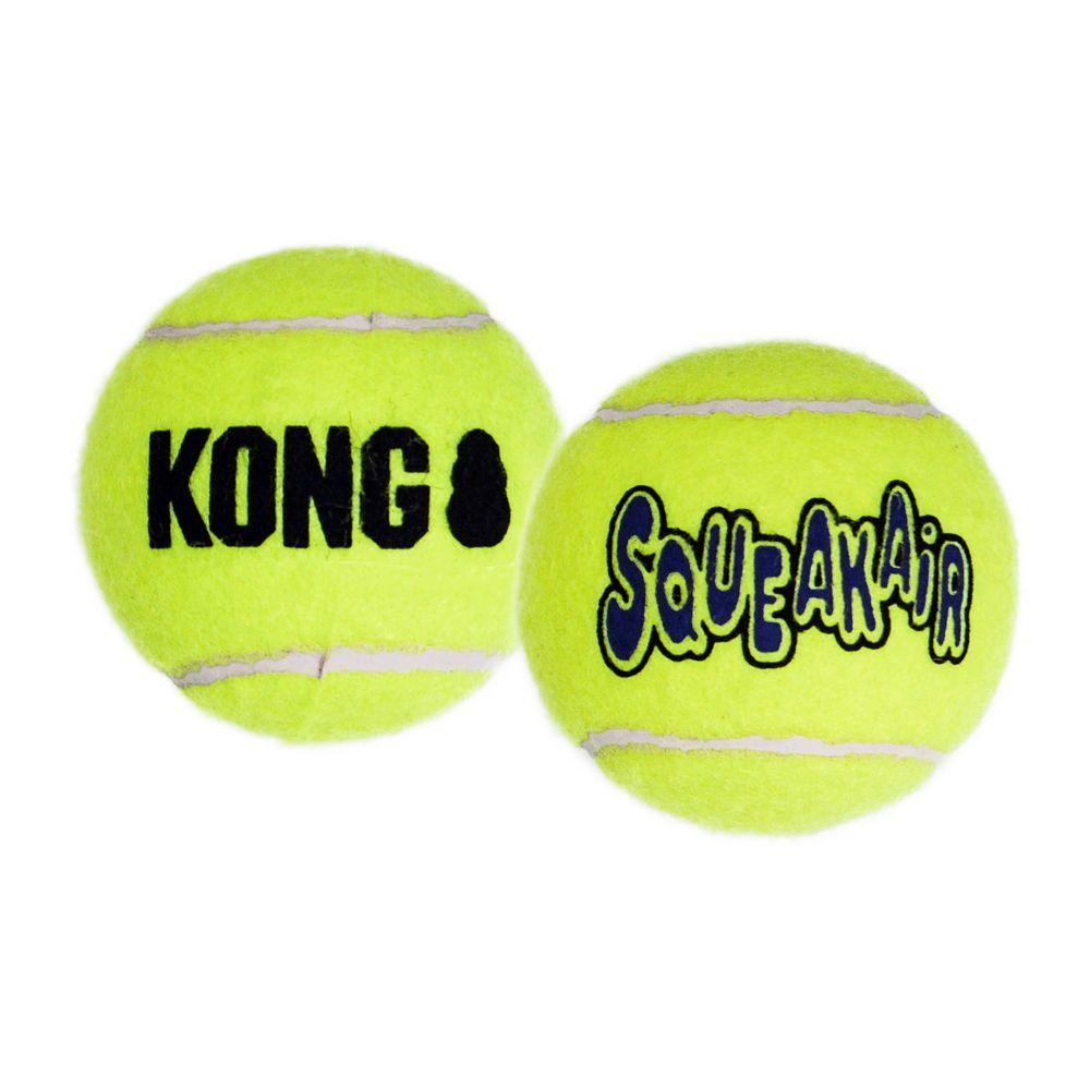 KONG SqueakAir Ball Dog Toy, Large, 1-pk