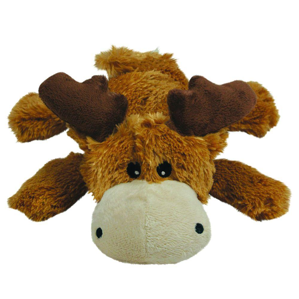 KONG Cozie Marvin the Moose Dog Toy, Small
