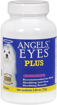 Angels' Eyes Plus Chicken Flavor Dog Supplement, 2.64-oz bottle