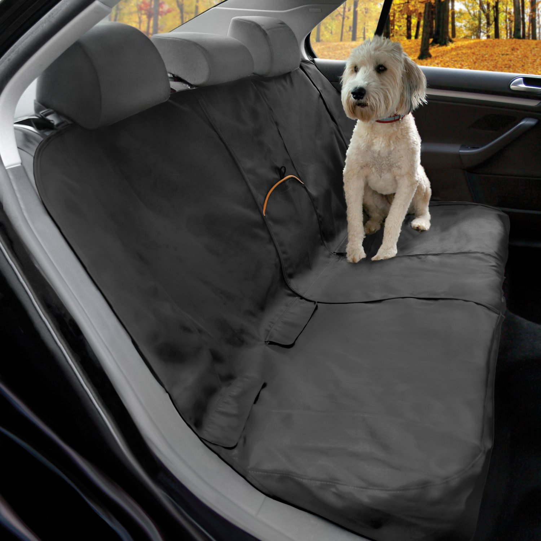 Kurgo Bench Seat Cover, Black (Color: Black) Image