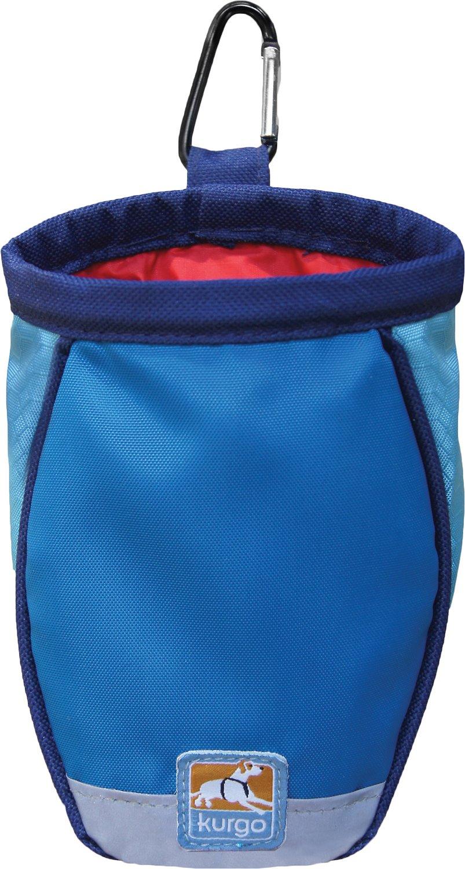 Kurgo Go Stuff-It Dog Treat Bag, Blue (Weights: 2.24ounces) Image