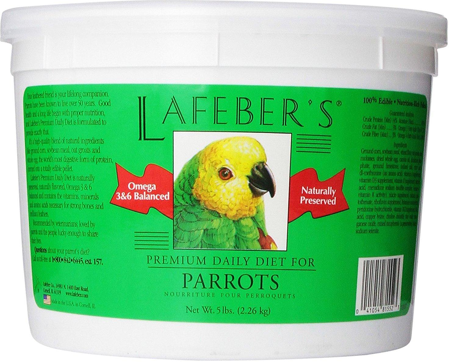 Lafeber Premium Daily Diet Parrot Bird Food Image
