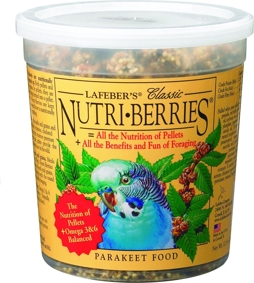 Lafeber Classic Nutri-Berries Parakeet Bird Food Image
