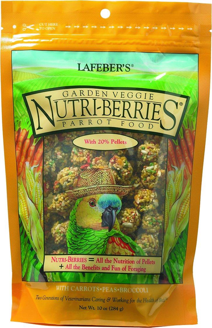 Lafeber Garden Veggie Nutri-Berries Parrot Bird Food Image