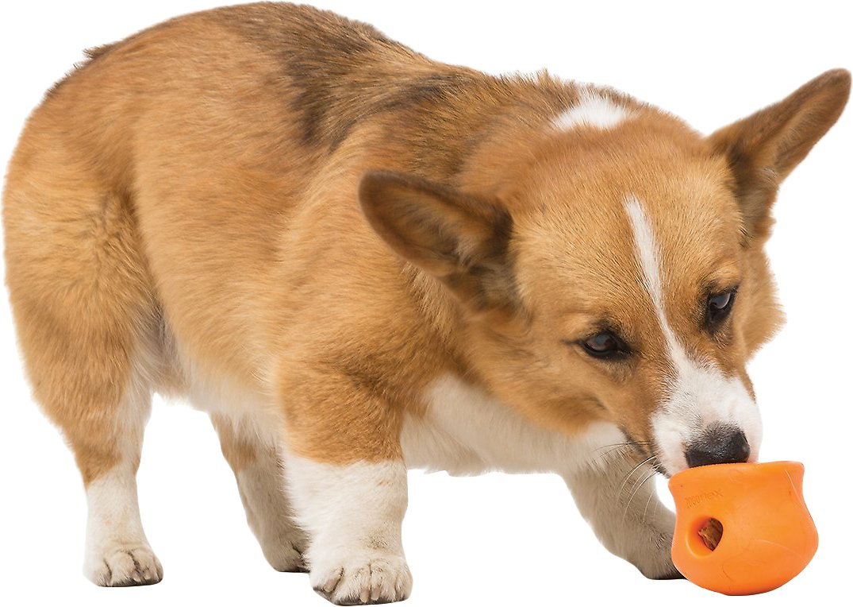 West Paw Zogoflex Toppl Dog Toy, Tangerine Image
