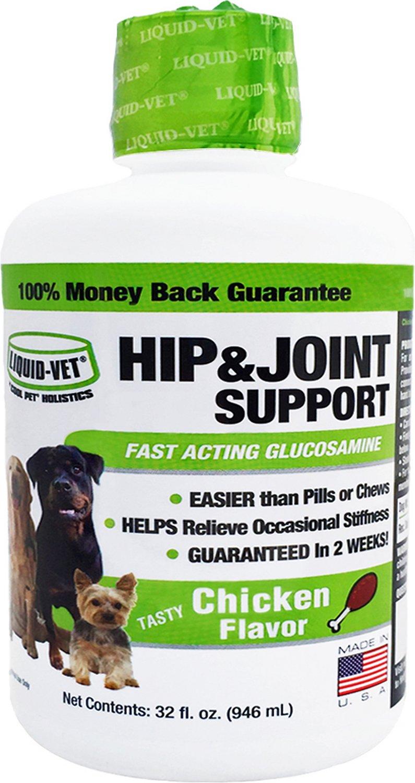 Liquid-Vet Hip & Joint Dog Suppliment Image