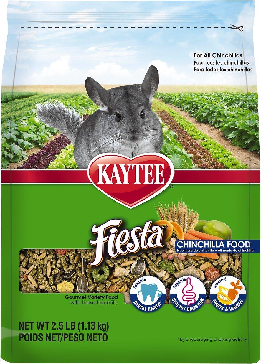 Kaytee Fiesta Gourmet Variety Diet Chinchilla Food, 2.5-lb bag Image
