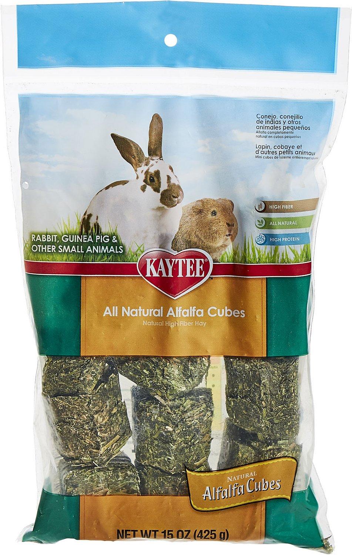 Kaytee Alfalfa Cubes Small Animal Food, 15-oz bag Image