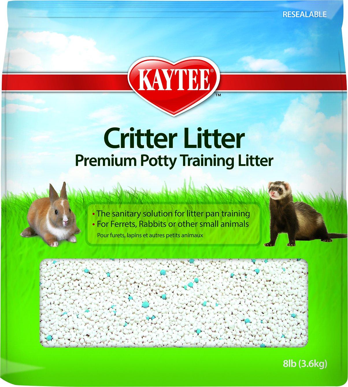Kaytee Critter Litter Premium Potty Training Small Animal Litter, 8-lb bag Image