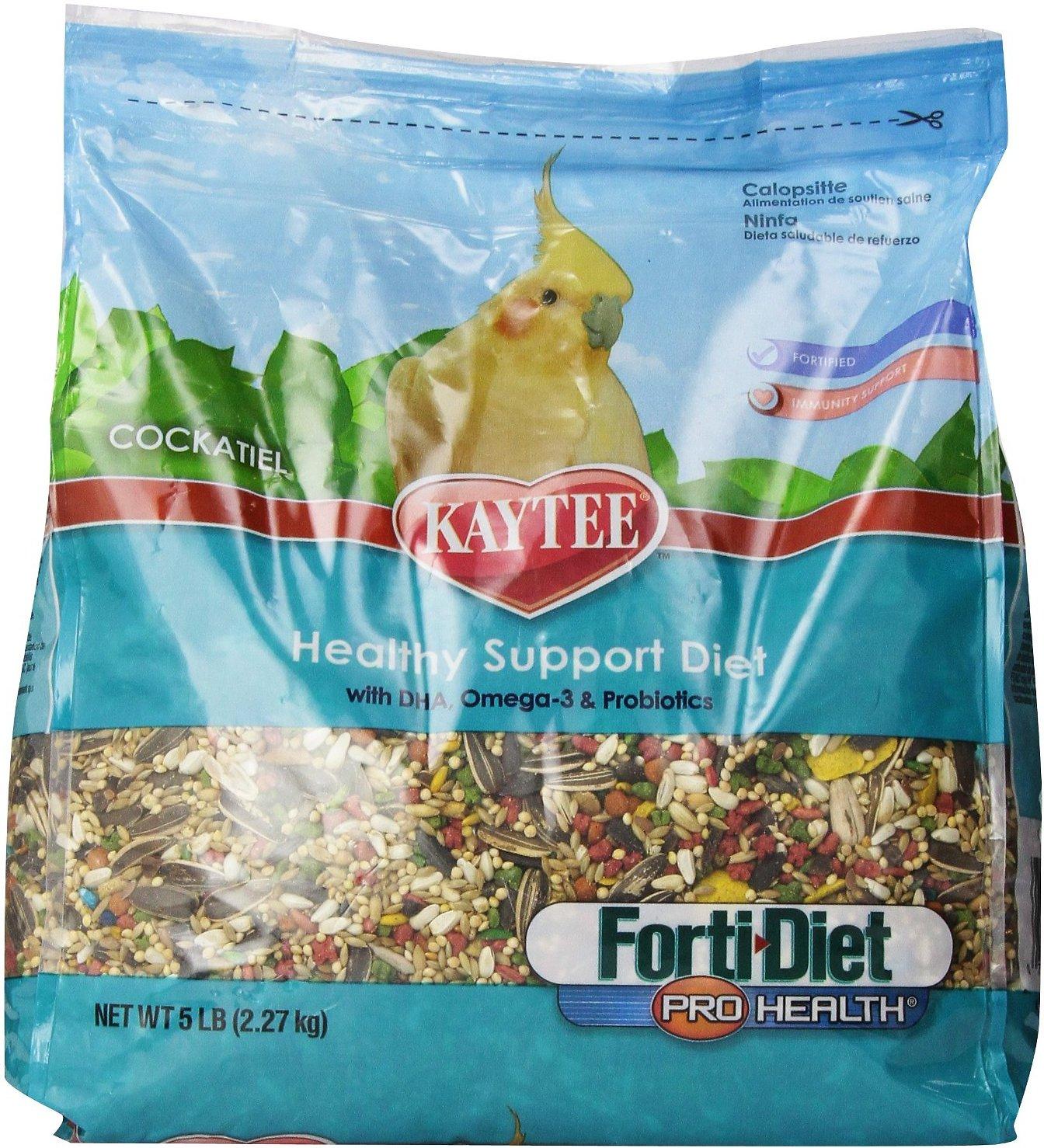 Kaytee Forti-Diet Pro Health Cockatiel Bird Food