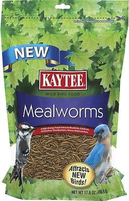 Kaytee Meal Worm Wild Bird Food, 17.6-oz bag