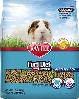 Kaytee Forti-Diet Pro Health Guinea Pig Food, 5-lb bag