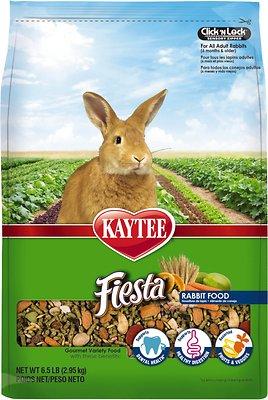 Kaytee Fiesta Gourmet Variety Diet Rabbit Food, 6.5-lb bag