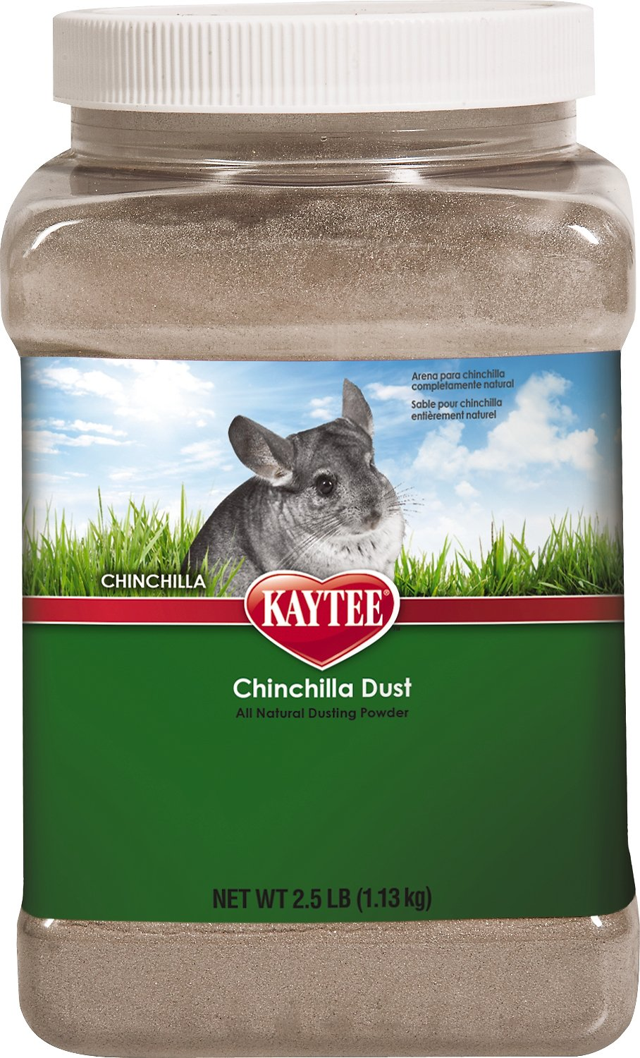 Kaytee Chinchilla Dust Bath, 2.5-lb jar Image