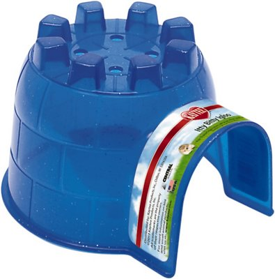 Kaytee Small Animal Igloo Hideout, Color Varies, Itty-Bitty, X-Small