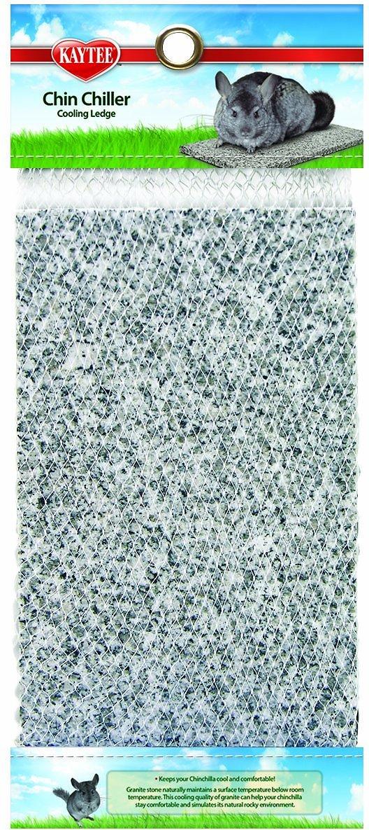 Kaytee Chin Chiller Granite Stone Chinchilla Cooling Ledge, 9.9-in