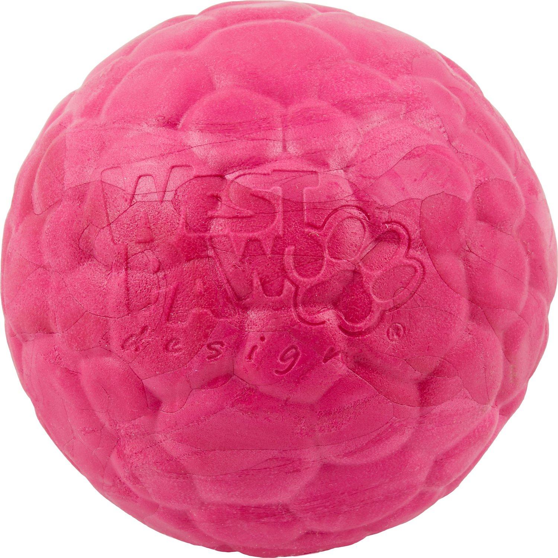 West Paw Zogoflex Air Boz Ball Dog Toy, Currant Image