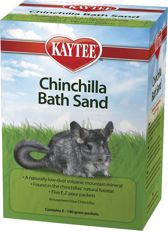 Kaytee Chinchilla Bath Sand, 5 count (Weights: 1.75 pounds) Image