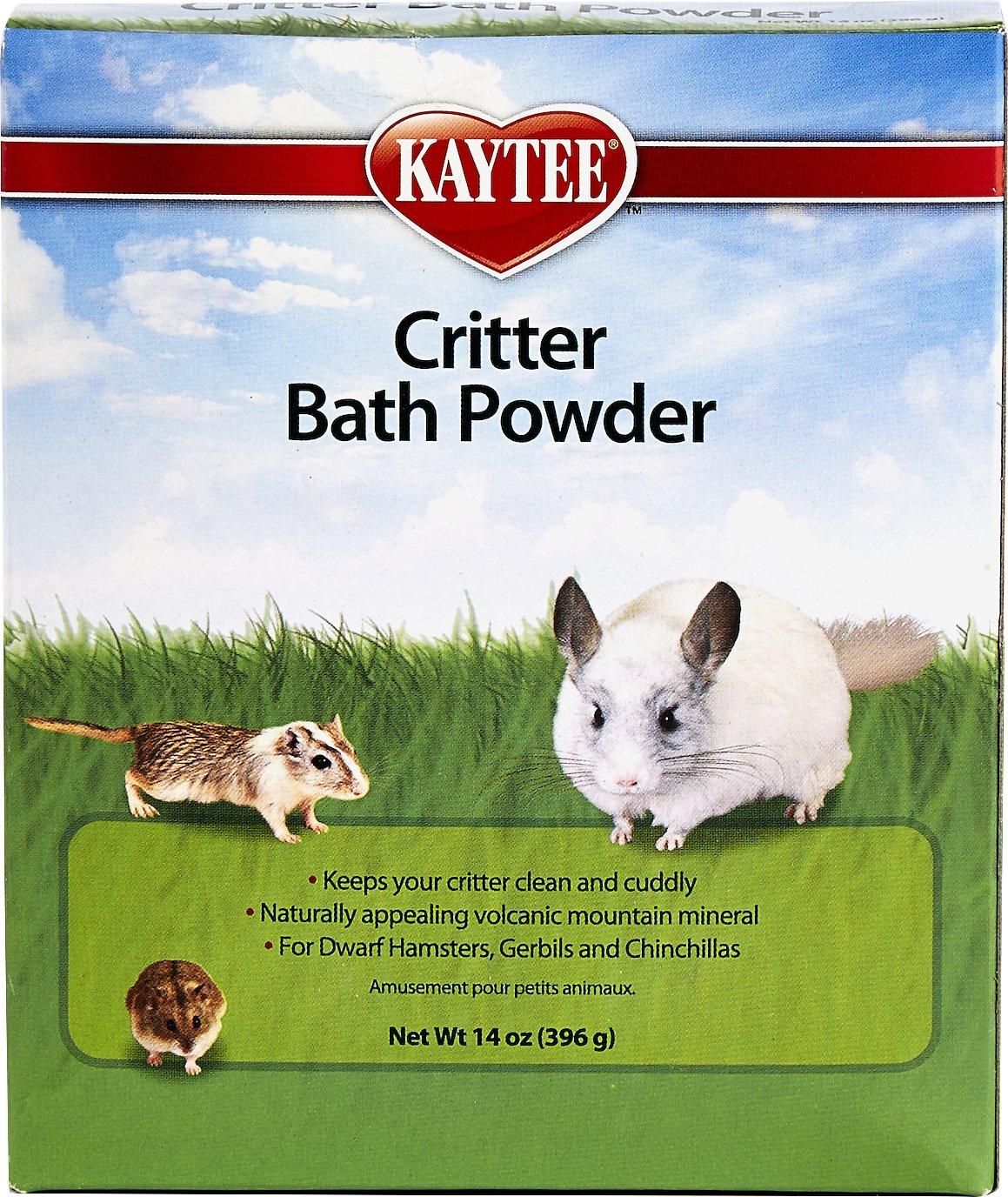 Kaytee Critter Bath Powder for Small Animals, 14-oz box