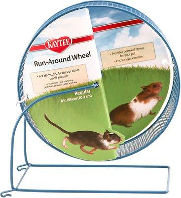 Kaytee Run-Around Small Animal Exercise Wheel, Color Varies, Regular
