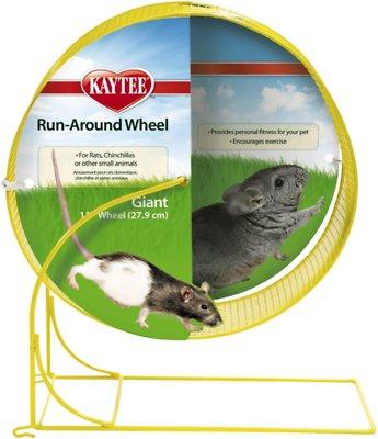 Kaytee Run-Around Small Animal Exercise Wheel, Color Varies, Giant