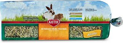 Kaytee Alfalfa Mini Bale Small Animal Treat, 24-oz bag