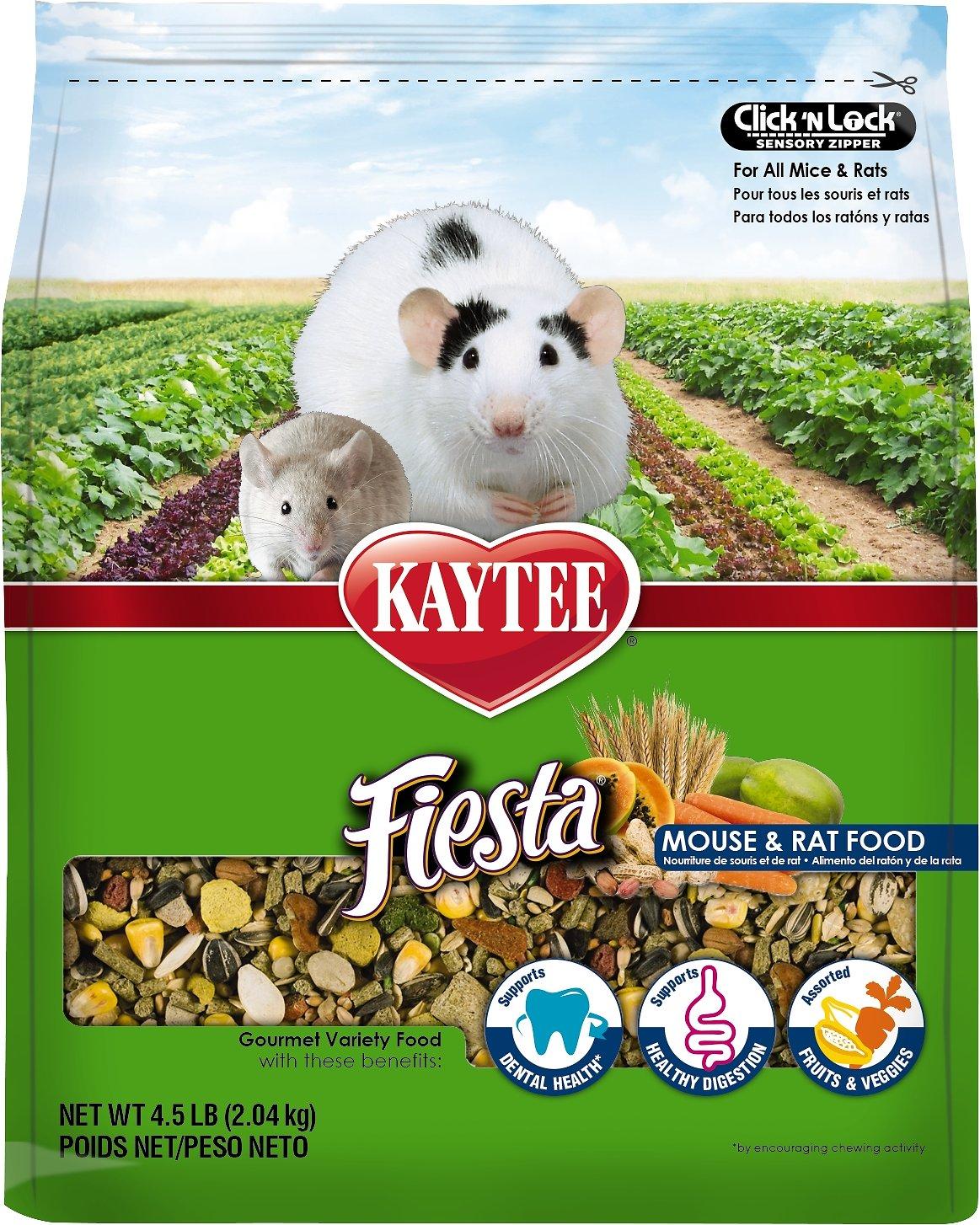 Kaytee Fiesta Gourmet Variety Diet Rat & Mouse Food Image