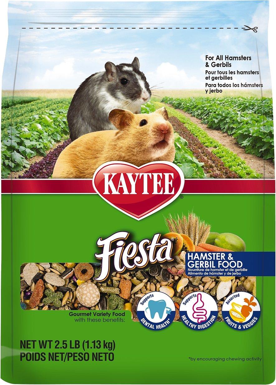 Kaytee Fiesta Gourmet Variety Diet Hamster & Gerbil Food Image