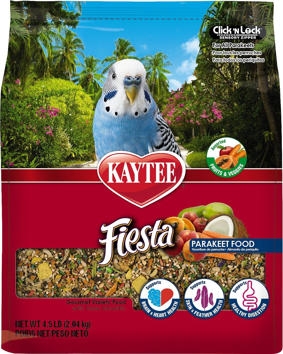 Kaytee Fiesta Variety Mix Parakeet Bird Food Image