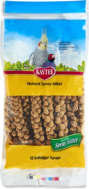 Kaytee Natural Spray Millet Bird Treats Image