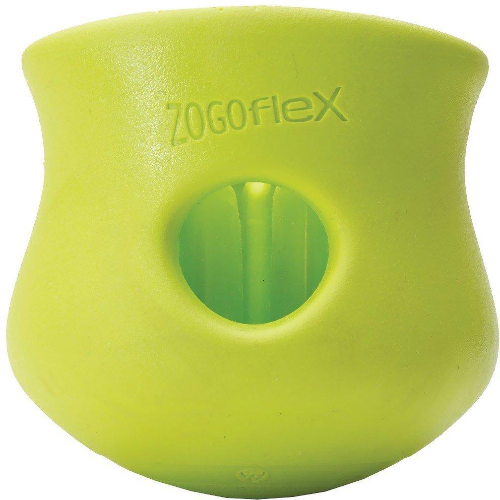 West Paw Zogoflex Toppl Dog Toy, Granny Smith Image