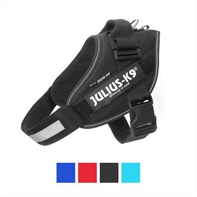 Julius-K9 IDC Powerharness Dog Harness, Black, Size 3