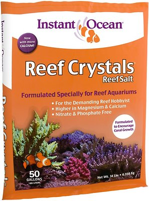 Instant Ocean Reef Salt for Aquariums, 50-gal
