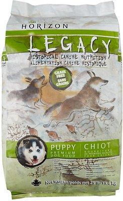 Horizon Legacy Puppy Grain-Free Dry Dog Food, 25-lb