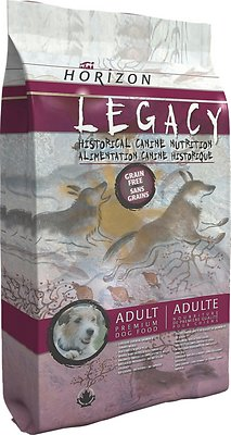 Horizon Legacy Adult Grain-Free Dry Dog Food, 25.1-lb bag