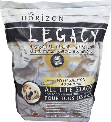 Horizon Legacy with Salmon All Life Stages Grain-Free Dry Dog Food, 8.8-lb bag