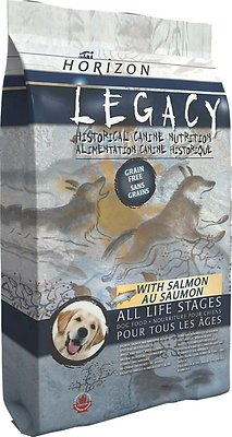 Horizon Legacy with Salmon All Life Stages Grain-Free Dry Dog Food, 25-lb