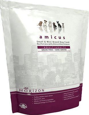 Horizon Amicus Small & Mini Breed Adult Grain-Free Dry Dog Food, 11-lb bag