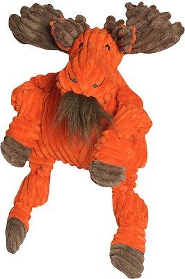 HuggleHounds Knottie Moose Dog Toy, Small