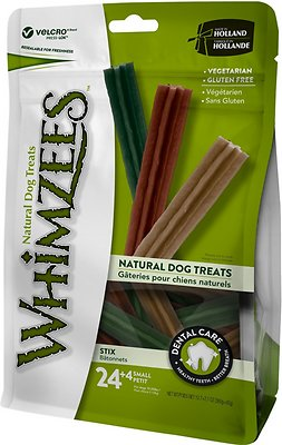 WHIMZEES Stix Dental Dog Treats, Small, 28 count