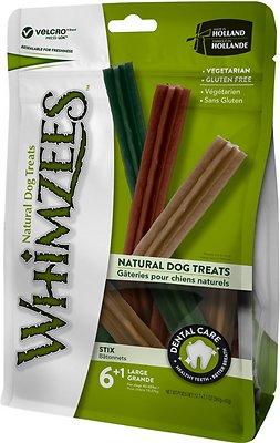 WHIMZEES Stix Dental Dog Treats, Large, 7 count