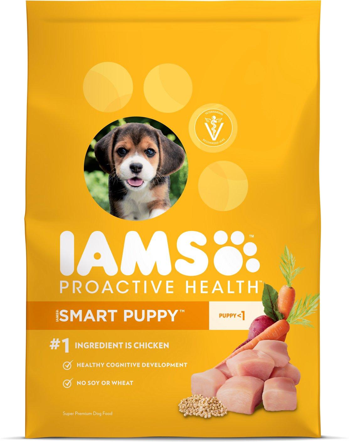 Iams ProActive Health Smart Puppy Original Dry Dog Food, 30-lb