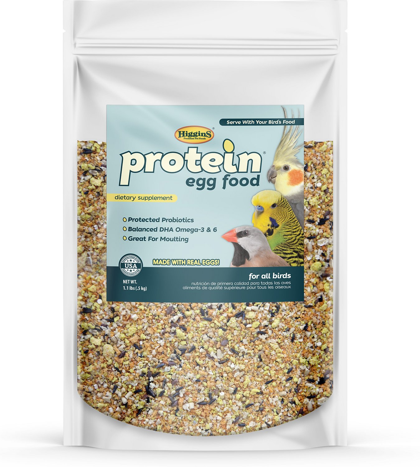 Higgins Protein Egg Bird Food Image